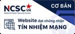 website đạt tín nhiệm mạng